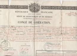Lectoure (32 Gers) CONGE DE LIBERATION  1840  (PPP10514) - Documentos