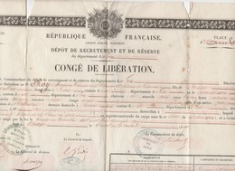 Lectoure (32 Gers) CONGE DE LIBERATION  1840  (PPP10514) - Documenti