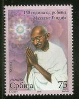 Serbia 2019 Mahatma Gandhi Of India 150th Birth Anniversary 1v MNH # 2373 - Mahatma Gandhi
