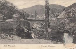 CPA - Villefort - Paysage à Lasserre - Villefort
