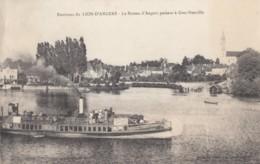 CPA - Grez Neuville - Le Bâteau D'Angers Passant à Grez Neuville - Environs Du Lion D'Angers - France