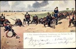 Cp 5. Thüringisches Infanterie Regiment Grand-duc Von Saxe No. 94, Weimar, Eisenach Und Jena - Militaria