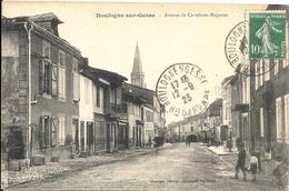 *BOULOGNE SUR GESSE. AVENUE DE CASTELNAU-MAGNOAC - Autres Communes