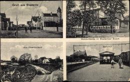 Cp Biederitz In Saxe Anhalt, Alte Oberförsterei, Bahnhof, Waldschänke Im Biederitzer Busch - Deutschland