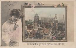 27 - GISORS - De Gisors, Je Vous Envoie Ces Fleurs - Gisors