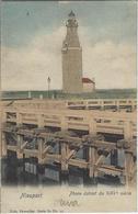 Nieuport     Phare Datant Du XIII E Siècle.   -   Prachtige Gekleurde Kaart!    1900  Naar   Bruxelles - Nieuwpoort