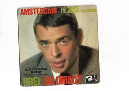 Disque 45 T Brel En Direct 3 Titres - 45 T - Maxi-Single