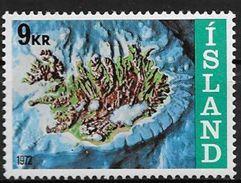 Islande 1972 N° 421  Neuf ** MNH Socle Continental - 1944-... Republique