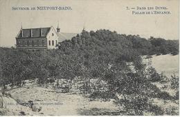 Souvenir De Nieuport-Bains.    -    Dans Les Dunes.    Palais De L'Enfance   -   1913   Naar   Anvers - Nieuwpoort