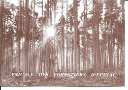 88 - Epinal - Amicale Des Forestiers - Invitation Soirée Dansante - Epinal