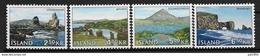Islande 1966 N° 355/358  Neufs ** MNH Paysages - 1944-... Republique