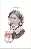 PK - Florence Nichtingale - Stempel Cachet - Automobiel Postkantoor Overstromingen - Inondations 1953 - Femmes Célèbres