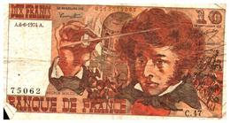 Billets > France >10  Francs A.6-6-1974.A. - 1962-1997 ''Francs''