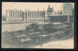 78 -- St - Germain - En - Laye -- Le Chateau Et La Gare Vus Du Parc - St. Germain En Laye (Château)