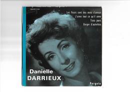 Disque 45 T  Danielle Darrieux  4 Titres - 45 T - Maxi-Single
