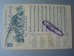 MUSIQUE : Souvenir De MONS - EL DOUDOU - Cartes Postales
