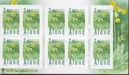 ALAND - PRIMULA VERIS - FOGLIETTO - NUOVO (YVERT 157 - MICHEL 156) - Aland