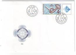 SLOVAKIA FDC 299 - FDC