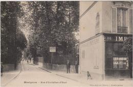 CARTE POSTALE   MONTGERON 91  Rue D'Esclaibes D'Hust - Montgeron