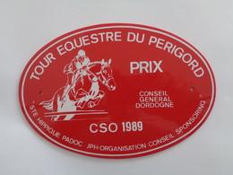 Plaque équestre En PVC Tour équestre Du Périgord - Equitation