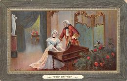 """Victorian Era """"Yes"""" Or """"No"""" Lovers Romance, Piano Music - Other"""
