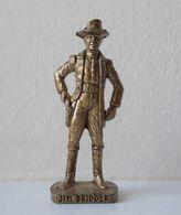 - KINDER. Figurine En Métal. Série N°44. Cow-boys Célèbres 2 N°1 - - Figurines En Métal