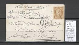 France  BALLON MONTE - 18/01/1871 - Carte Postale - Le GENERAL BOURBAKI - SIGNE CALVES - 1870 Siege Of Paris