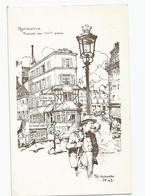RESTAURANT DU VIEUX LOGIS  RUE LEPIC PARIS 18e MONTMARTRE - Hotels & Restaurants
