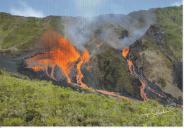 ILE DE LA REUNION - ERUPTION DE LA FOURNAISE 26 DECEMBRE 2005 - La Réunion