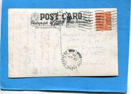 """Guerre D'indochine-carte Postale D'écosse """"chalet Terrace-animé Cad 1948 PourSP 69643 - Marcophilie (Lettres)"""