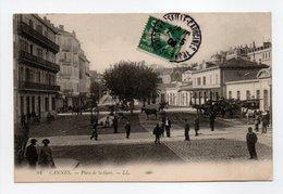 - CPA CANNES (06) - Place De La Gare 1908 - Editions Lévy N° 84 - - Cannes