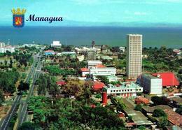 Nicaragua Managua Overview New Postcard - Nicaragua