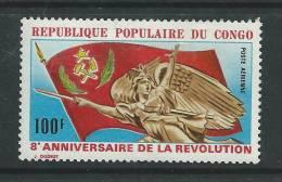 Congo PA N° 138 X  8ème Anniversaire De La Révolution, Trace De Charnière, Sinon TB - Congo - Brazzaville