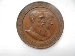 LIEGE-1890-EXPOSITION INTERNATIONALE Par A.FISCH -77 Grammes-63 Mm - Professionals / Firms