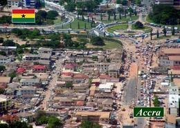 Ghana Accra City Aerial View New Postcard - Ghana - Gold Coast