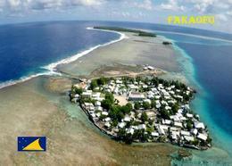Tokelau Fakaofo Aerial View New Postcard - Neuseeland