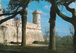 MALTA, 1987; Watchtower Overlooking Grand Harbour - Malta
