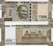 INDIA       500 Rupees       P-114       2017       UNC  [ Sign. Patel - Letter R ] - India