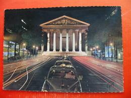 PARIS.La Rue Royale..Peugeot Car, Typ 403 - Taxi & Carrozzelle