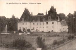 72 SILLE LE PHILIPPE CHATEAU DE PASSAY PAS CIRCULEE - Altri Comuni