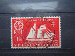 """VEND BEAU TIMBRE DE S.P.M. N° 303 , OBLITERATION """" ST-PIERRE ET MIQUELON """" !!! - Oblitérés"""