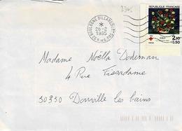 TP N°2345 Seul Sur Enveloppe De Boulogne-Billancourt - Marcophilie (Lettres)