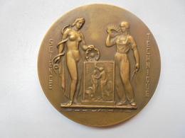 LIEGE(1847-1947) CENTENAIRE DE L'A.I.L.G Par LOUIS DUPONT-91 Grammes-60 Mm - Professionnels / De Société