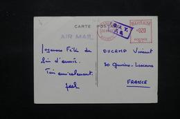 BAHREÏN - Affranchissement Mécanique De Manama Sur Carte Postale ( Bateau ) En 1965 Pour La France - L 27457 - Bahreïn (1965-...)