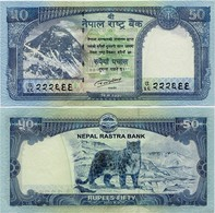 NEPAL       50 Rupees       P-79       2015 / BS 2072 (2016)      UNC  [ Sign. 20 ] - Nepal
