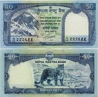 NEPAL       50 Rupees       P-79       2015 / BS 2072 (2016)      UNC  [ Sign. 20 ] - Népal