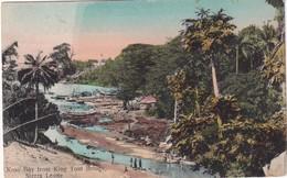 SIERRA LEONE 1909 CARTE POSTALE DE KROO BAY FROM KING TOM BRIDGE - Sierra Leone