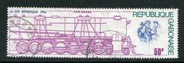 GABON- P.A Y&T N°165- Oblitéré (trains) - Gabon (1960-...)