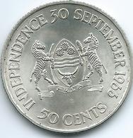 Botswana - 1966 - 50 Cents - Independence - KM1 - Botswana