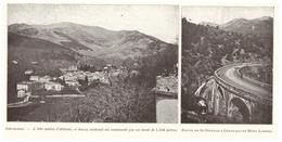 1924 - Iconographie - Génolhac (Gard) - Vues - FRANCO DE PORT - Old Paper